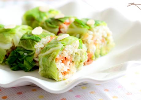 春キャベツのビューティ棒寿司